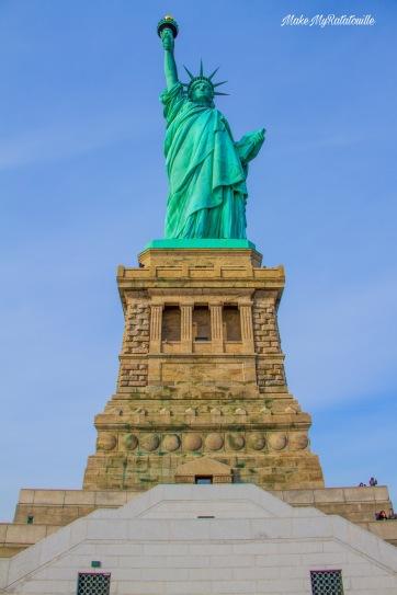 La statue de Liberté